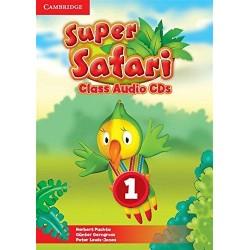Super Safari Level 1 Class Audio CDs (2)