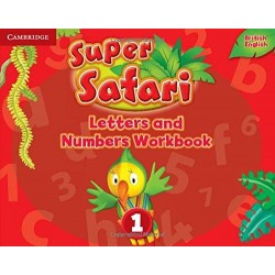 Super Safari Level 1 Letters and Numbers Book