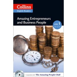 Amazing Entrepreneurs & Business People (A2) + Audio CD