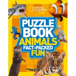 Puzzle Book Animals: Fact-packed Fun