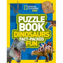 Puzzle Book Dinosaurs: Fact-Packed Fun