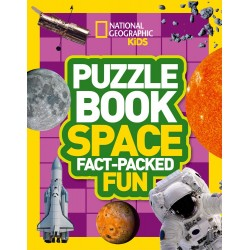 Puzzle Book Space: Fact-packed Fun