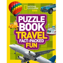 Puzzle Book Travel: Fact-packed Fun