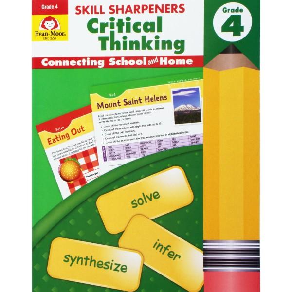 Skill Sharpeners: Critical Thinking, Grade 4