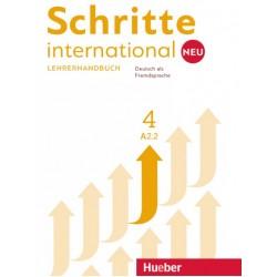 Schritte international NEU 4, Lehrerhandbuch