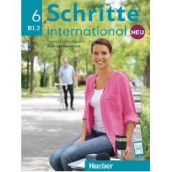 Schritte international NEU 6, Kursbuch + Arbeitsbuch + CD zum Arbeitsbuch