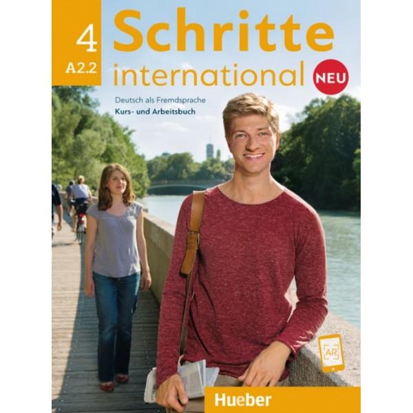 Schritte international NEU 4, Kurs - und Arbeitsbuch mit CD