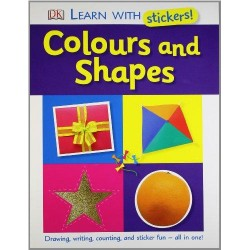 Learn with Stickers: Colours and Shapes