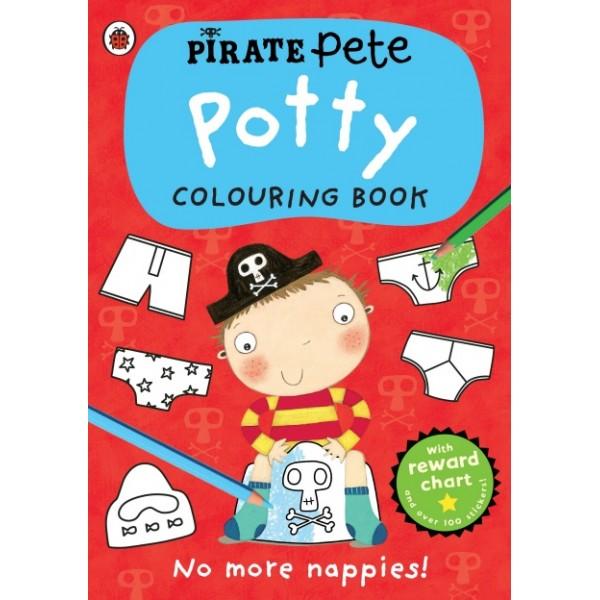 Pirate Pete: Potty Colouring Book