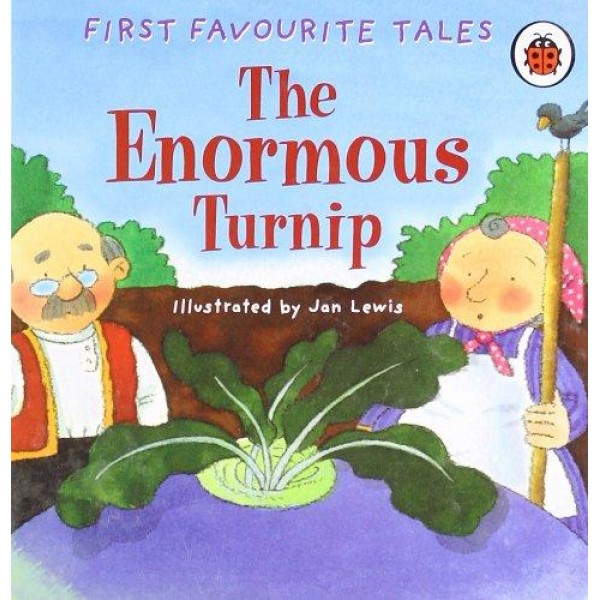The Enormous Turnip with Audio CD - Level 1