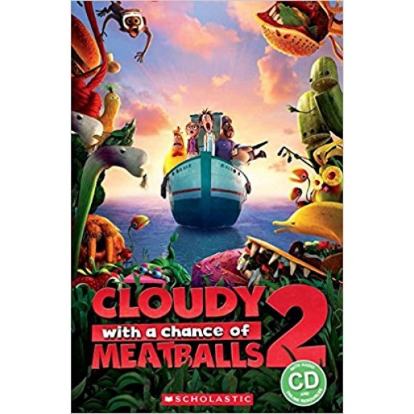 Cloudy with a Chance of a Meatballs 2 (Book + CD)