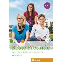 Beste Freunde A2/1 - Arbeitsbuch mit CD ROM